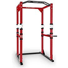Capital Sports Tremendour jaula musculación dorsalera (acero canteado, profesional, multiagarre, flexiones,