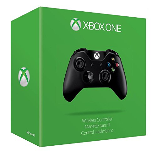 Xbox One Wireless Controller (With 3.5 mm Jack) (Black)