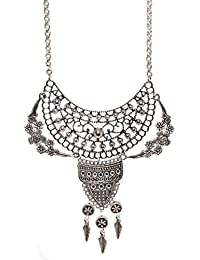 Aamoddhini Party Wear Western Fancy Designer Necklace Set For Women And Girls LN-76