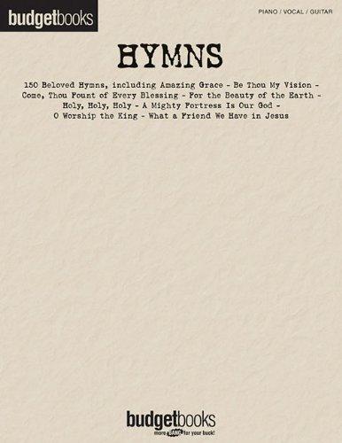 Hymns: Piano/Vocal/Guitar (Budget Books)