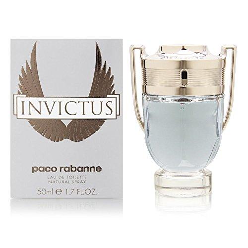 Paco Rabanne Invictus homme/ men, Eau de Toilette, Vaporisateur/ Spray, 1er Pack (1 x 50 ml)
