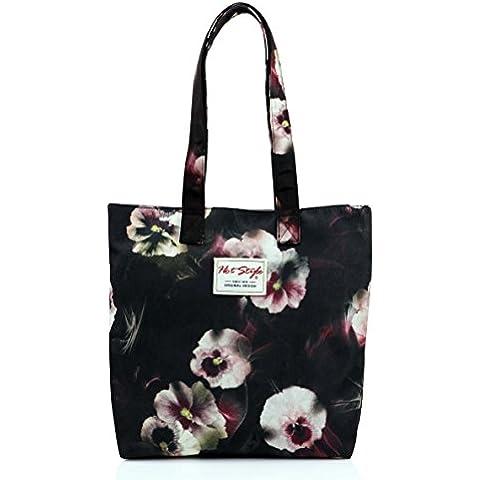 Hotstyle, Borsa a spalla donna Multicolore S017, Floral Misura unica