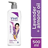 Vivel Body Wash, Lavender and Almond Oil, 500 ml