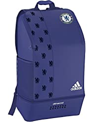 adidas Chelsea FC Clmco Back Pack Rucksack, Cheblu/White, 10 x 40 x 60 cm, 24 Liter