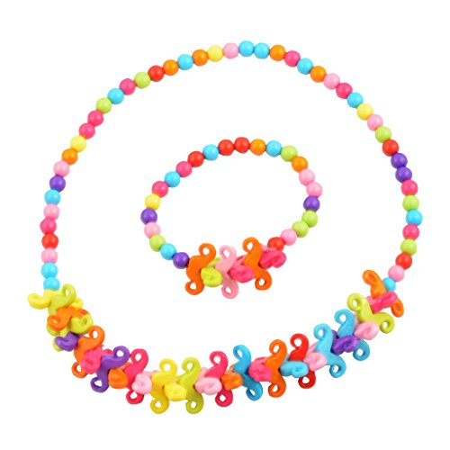 Kid Accessories Party Wear Jewellery Set Bacho Ke Zevar by ANGEL GLITTER  available at amazon for Rs.249