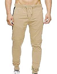 Jogging para Pants Deportivos Joggers Largos Pantalones de Hombre de  chándal Pantalón Jogger con Casual Sportwear 9e51f3b94d97