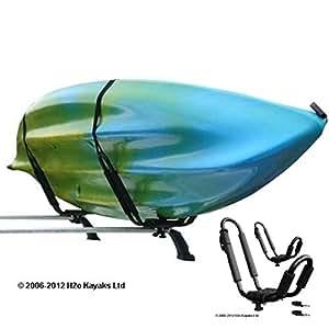 T-Rack pour transporter kayaks de mer et rivière