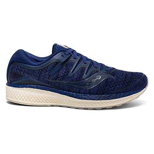 Saucony Men Triumph Iso 5 Neutral Running Shoe Running Shoes Dark Blue - Dark Grey 8,5