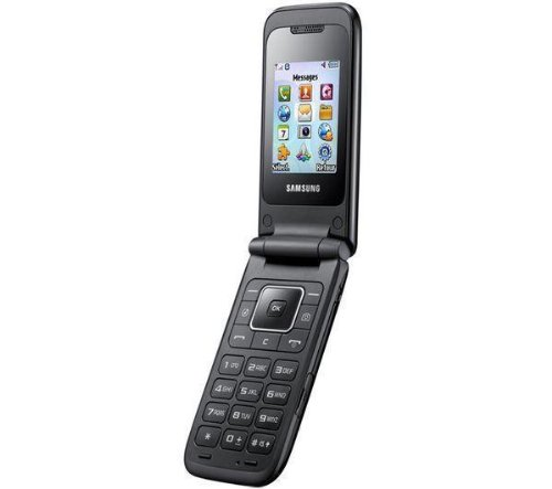 """'Samsung E25302""""86g schwarz-Handys (5,08cm (2""""), 128x 160Pixel, TFT, 2,72cm (1.07) CSTN, 96x 96Pixel)"""