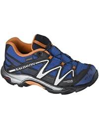 Salomon XT WINGS WP - Zapatillas para niño COSMOS BLUE / BLACK / ORANGE FEELING Talla:11-K