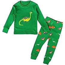 MissFox Lindo Animal Impresión Pijamas Set Para Unisexo Niño