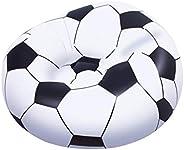BW- BEANLESS SOCCER BALL CHAIR 1.14M X 1.12M X 66CM