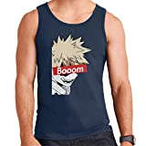 Bakugou Boom Skate Brand My Hero Academia Men's Vest