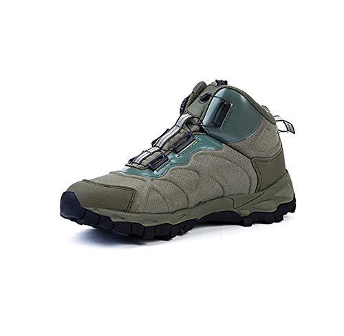 Stivali militari da combattimento da uomo Stivali da combattimento tattici da esterno Autunno inverno scarpe da passeggio di sicurezza militare vintage Scarpe da trekking antiscivolo resistenti all'us