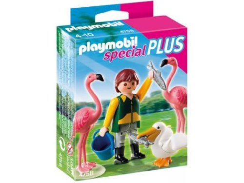 Playmobil  4758 - guardiano con uccelli esotici