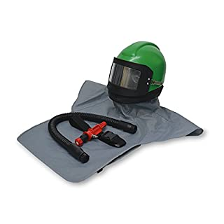 Allegro Industries NV20-00H Nova 2000 Helmet with Nylon Cape, Breathing Tube and Heater, High Pressure