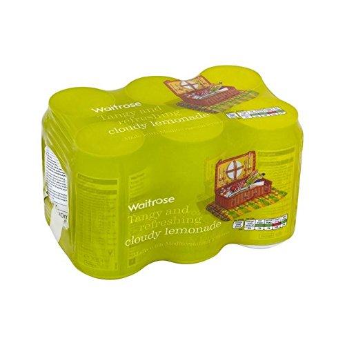 Limonade Nuageux 6Pk Waitrose 6 X 330Ml