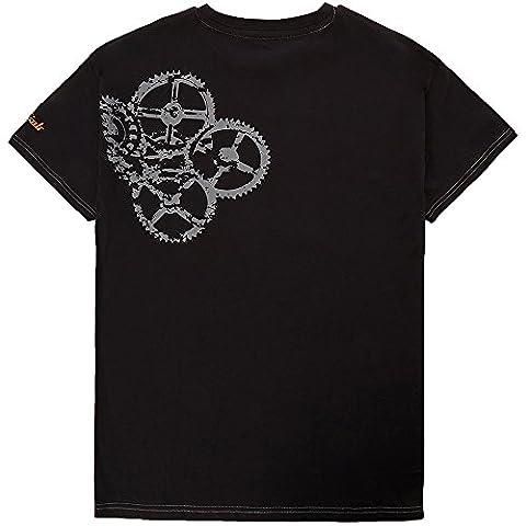 Terratrend Job 10378-M-1062 Revolution T-Shirt Taille M Noir/Gris