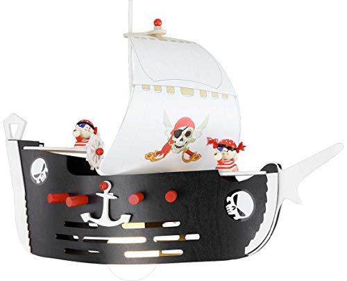 Lampadario a sospensione pirati la nave dei pirati, a 1 luce ELO-127148