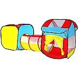 Tienda Campaña Infantil Carpa Plegable Tunel Infantil Pop Up Casitas Para Niños Carpa Jardin Playa Camping