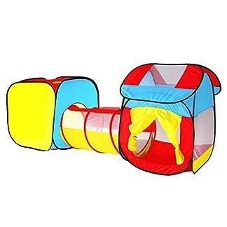 Tienda Campaña Infantil Carpa Plegable Tunel Infantil Pop Up Casitas Para Niños Carpa Jardin Playa Camping House Interior Exterior Tunel Regalos Cumpleaños Niños