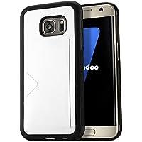 Radoo Galaxy S7 Lederhülle, Luxus Tasche [Kreditkarten Slots Halter] Etui Flexibles Silikon TPU Hybrid Weiche... preisvergleich bei billige-tabletten.eu