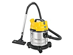 Kent Wet and Dry KSL-612 Vacuum Cleaner (Yellow/Silver)