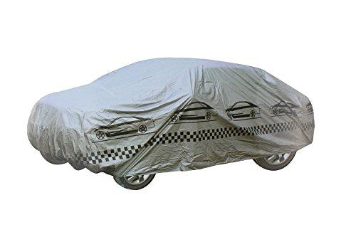 Housse de voiture complet Boîtier imperméable respirant pour voiture XL gris