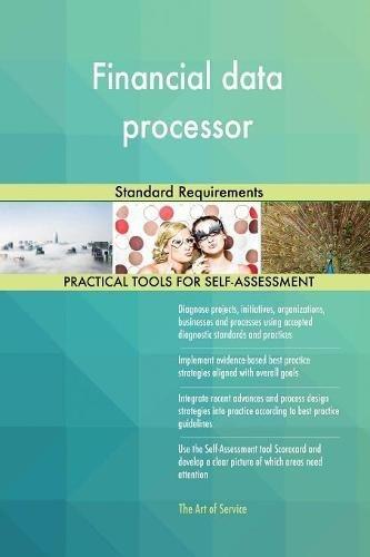 Financial data processor Standard Requirements