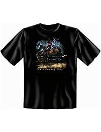 Western T-Shirt It&#39s a Cowboy Thing in schwarz