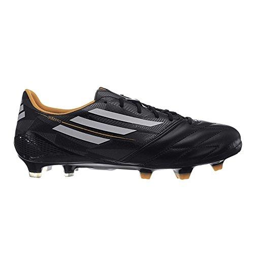 Adidas F50 adizero FG Leather M17680 Herren Fußballschuhe Schwarz core black-core white-solar gold