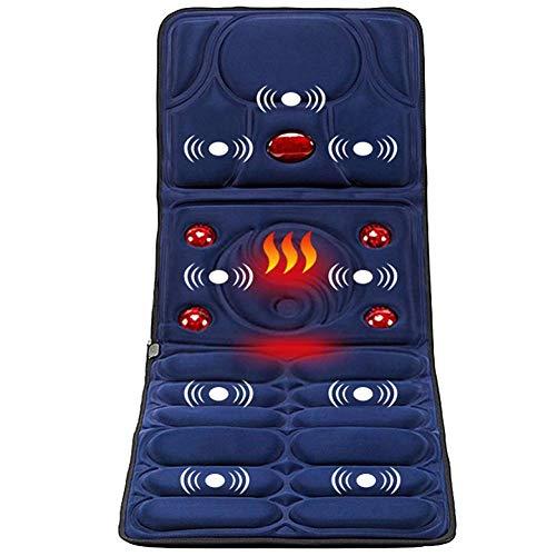 Ganzkörper-Gesundheits-Massage-Matratze Mit Beruhigender Hitze Multifunktions-Heizungs-Erschütterung Startseite Elektrische Infrarot Faltbare Massage-Matte - Hitze-beweis-matte