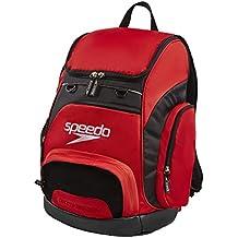 Speedo T-KIT Teamster Mochila, Unisex Adulto, Red / Black, 35 l