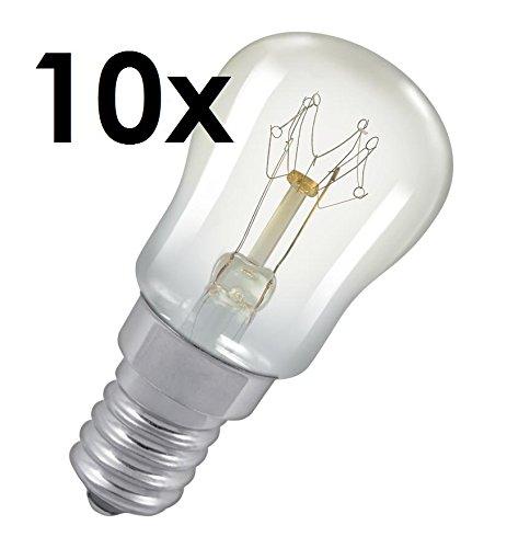 10x 25W Pygmy Glühbirne SES (E...