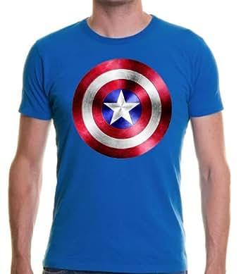 Captain America Shield Blue T-Shirt (3-4 YEARS)