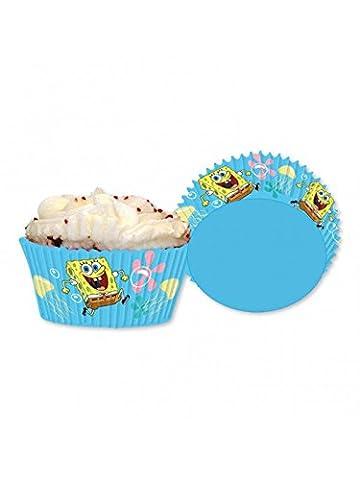 Amscan - 998295 - 48 Caissettes en Papier pour Cupcake Bob l