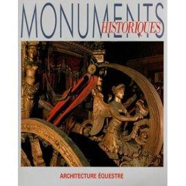 monuments historiques n° 167 de janvier 1990 - architecture équestre (magazine)
