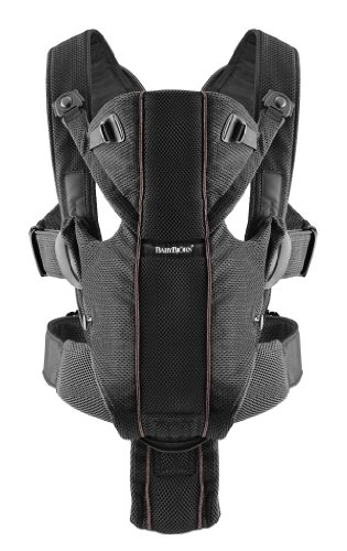 BABYBJÖRN Baby Carrier Miracle (Black, Mesh)