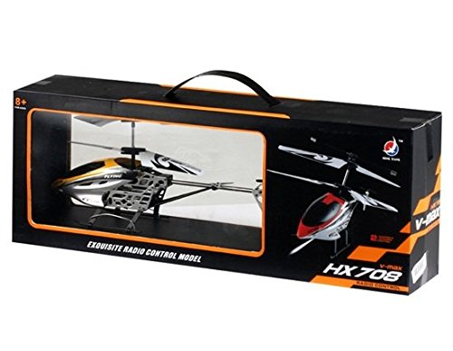 Spartanz V-Max R/C Helicopter Toy (Yellow)
