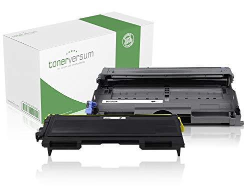 XXL Toner und Trommel kompatibel zu Brother TN-2000 DR-2000 für HL-2030 HL-2040 MFC-7420 MFC-7820n DCP-7010 DCP-7010L Fax 2820 2825 2920 Laserdrucker Spar-Set