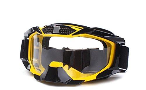 XIXI Motorrad-Reiten-Schutzbrillen im Freien (Im Gelben Hut Mann)