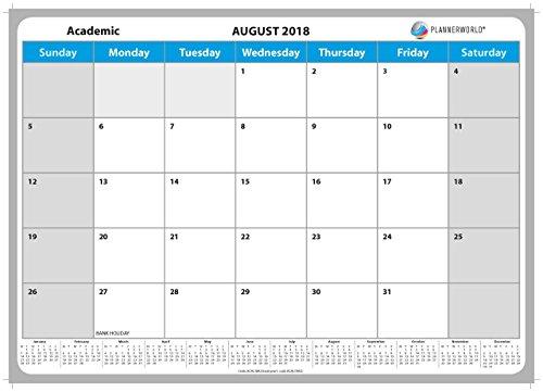 Calendario Da Parete Grande.Plannerworld Grande Calendario Da Parete Dell Anno