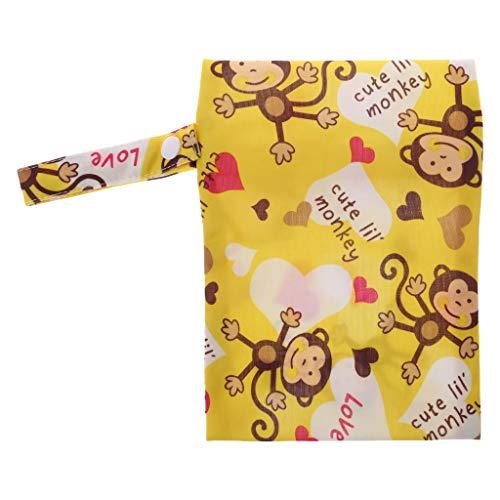 Preisvergleich Produktbild Nankod Baby Windel Aufbewahrungstasche Tragbare Wasserdichte Wet Dry Mini Tote Mit Mäppchen Wickeltasche Baby Supplies