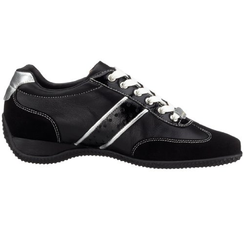 Hassia IMOLA 9-301674, Sneaker donna Nero (schwarz (schwarz/silver0176))