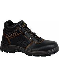 Delta plus calzado - Juego bota piel lantana negro talla 42(1 par)