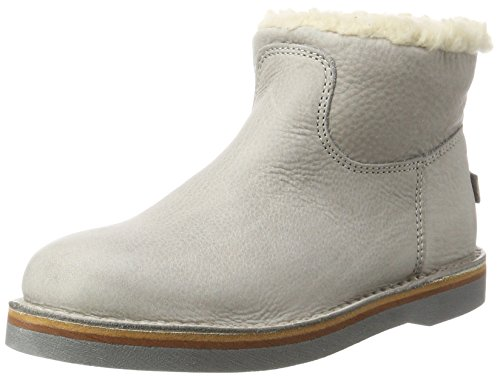 Shabbies Amsterdam Damen Schlupfstiefel, Grau (Light Grey), 40 EU -