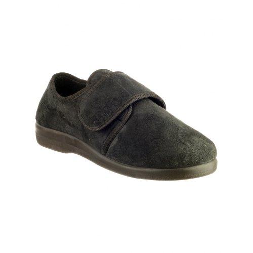 GBS Med - Pantofole con Strappo - Uomo (39 EUR) (Nero)