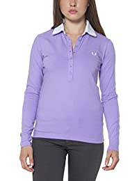 FRED PERRY 31032202 POLO MANICHE LUNGHE Mujer