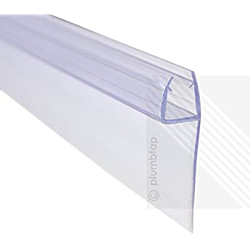 EcoSpaⓇ Glass Thickness 6-8mm | Gap to Seal 5mm | BUBBLE HEIGHT 7mm Shower Screen Seal
