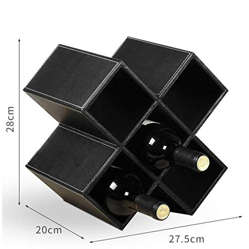 Weinregal Massivholz Haus Kreative Weinflasche Schrank Dekoration Rack Multi-Grid (Farbe : D,...
